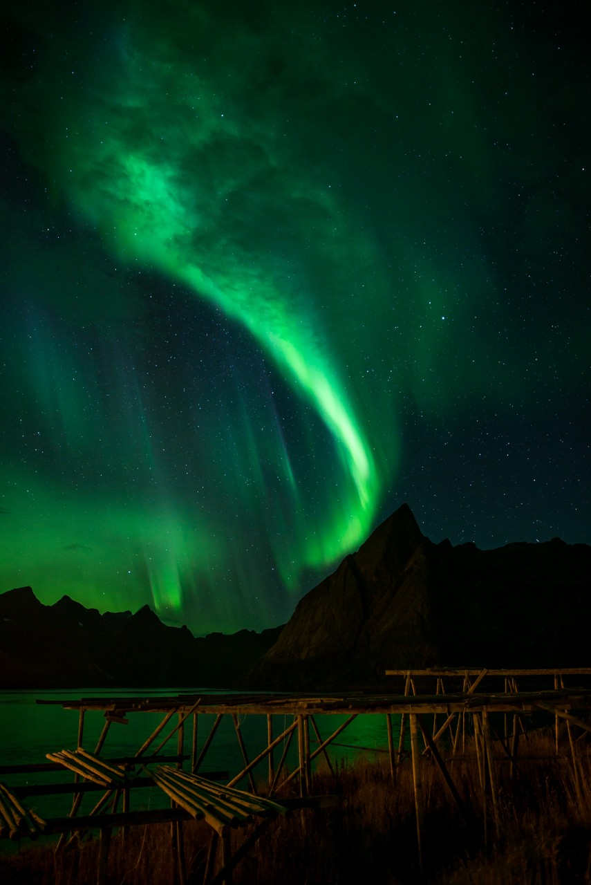 Beautiful northern light photography by Jens Klettenheimer