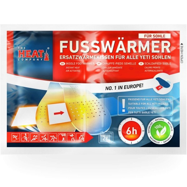 Footwarmers for Insoles