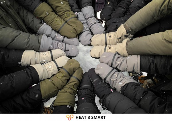 Photography Gloves against Cold Fingers and Hands: HEAT 3 SMART from THE HEAT COMPANY