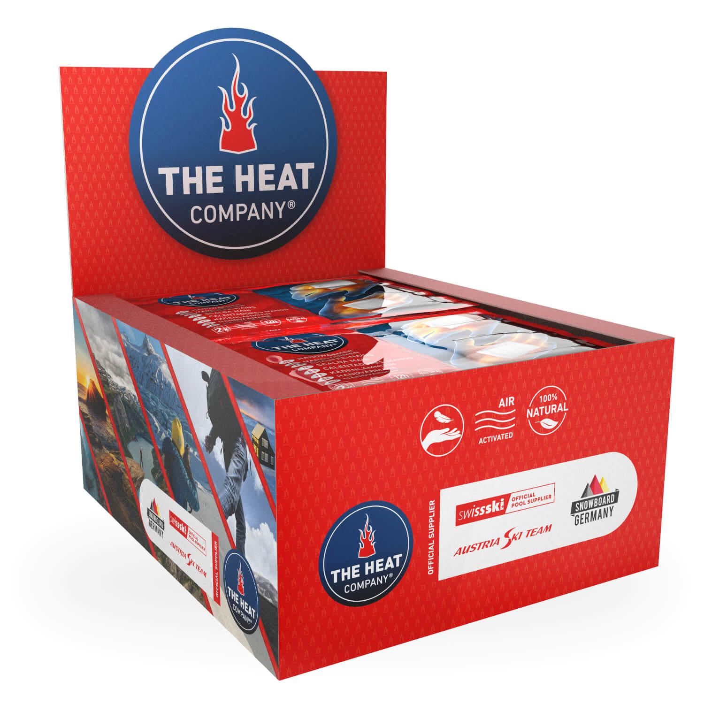 W/ärme THE HEAT COMPANY Handw/ärmer Taschenw/ärmer EXTRA WARM 10 oder 40 Paar 12 Std sofort einsatzbereit 100/% nat/ürlich luftaktiviert